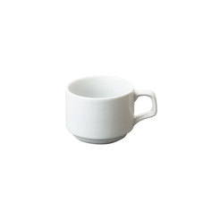 Great White Stacking Tea Cup 7oz 20cl
