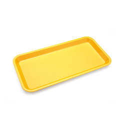 Individual Serving Platter Yellow 26.7cm