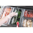 Gastronorm Hinge/Notched Lid Poly 1/6 Clear