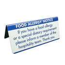 Allergen Buffet Notice Dietary Requirements