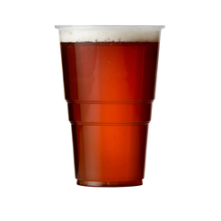 Flexy Disposable Plastic Beer Glass 10oz