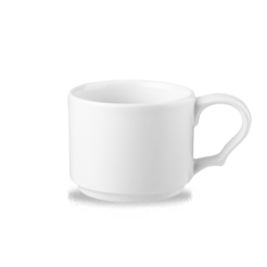 White Future Care Stacking Cup