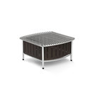 Small buffet station with wire grill - Black