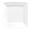 Energy Plate Square White 13.2 x 13.2cm