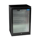 Arctica Single Hinged-Door Bottle Cooler - Black