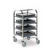 Dishwasher Basket Trolley 4 Tier