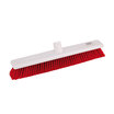 Abbey Hygiene Broom Head Soft 45cm Red