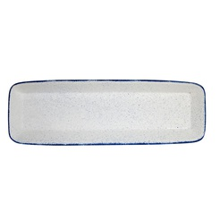Stonecast Hints Indigo Baking Dish