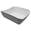 Verdura Grey/White Matt Melamine 1/2 Crock