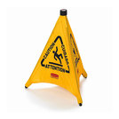 Multilingual Wet Floor Pop-Up Safety Cone