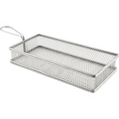 Serving Fry Basket 26 x 13cm Stainless Steel