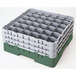 Cambro Camrack Glass Rack 36 Compartments Green