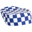 Brigade Skull Cap Large Blue & White Check