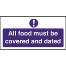 Kitchen Food Safety Food Must Be Covered