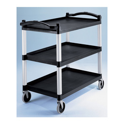 Cambro Trolley 3 Tier Black Frame