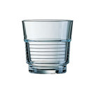 Spiral Toughened Glass Tumbler 7oz 20cl