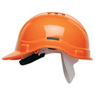 Scott Safety HC300VEL Elite Orange Vented Helmet