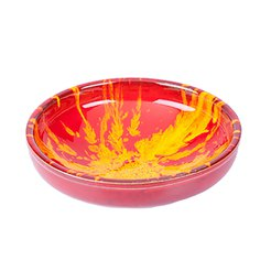 Manoli Speckle 25cm Bowl Red & Yellow Speckle
