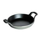 Baking Dish Grey Cast Iron Round 75cl 20cm