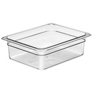 Gastronorm Container Poly 1/2 100mm Clear