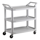 Heavy Duty Utility Service Cart White