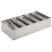 Cutlery Box Stainless Steel 5 Compartments