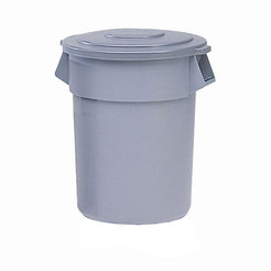 Brute Round Containers Grey 208.2ltr