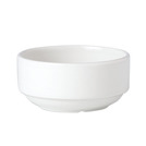 Simplicity Soup Cup White Stackable 28.5cl