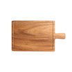 Steak Board Acacia With Groove & Handle 31x18cm
