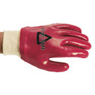 Keep Safe Red Fully Coated PVC Knitwrist Glove