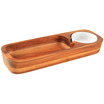 Classic Athena Serving Board 1 Sauce Bowls