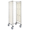 Self-Service Tray Trolley with Side Panels - 12 Tier