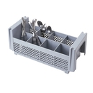 Camrack Cutlery Basket 8 Compartments Grey