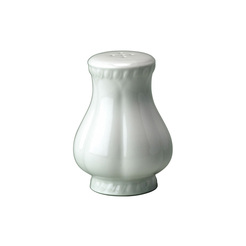 Buckingham Pepper Pot White 9cm