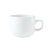 Bianco Cup White Stackable 17cl