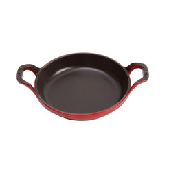 Baking Dish Cherry Cast Iron Round 75cl 20cm