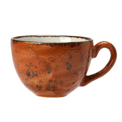Steelite Craft Low Cup 12oz Terracotta