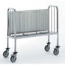 Plates Trolley with Secure Stacking Partitions