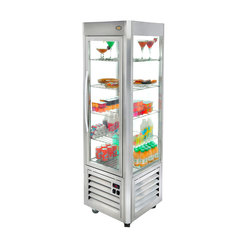 Refrigerated Display Cabinet Fixed Grid Gold