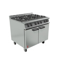 Falcon Dominator Plus Gas Range 6 Burner