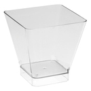 Clear Square Pot 200 Pack 150ml