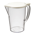 Plastic Jug With Lid 1 Litre