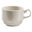 Silhouette Cup White Stackable 23cl