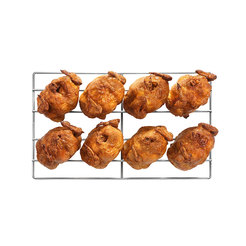 Lainox 1/1 GN 8 Piece Stainless Steel Chicken Grid