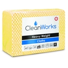 Heavy Weight Hygiene Cloth Yellow 80gsm