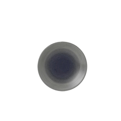 Stonecast Aqueous Grey Deep Coupe Plate 8 2/3