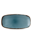 Harvest Blue Chefs' Oblong Plate 29.8 x 15.3cm 11 3/4 inch x 6 inch