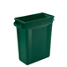 Svelte Bin with Venting Channels 60L, Green
