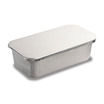 Baking Pan With Lid Aluminium 27.3x14.7x4.1cm