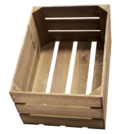Rustic Crate Large Natural 50 x 37 x 26cm